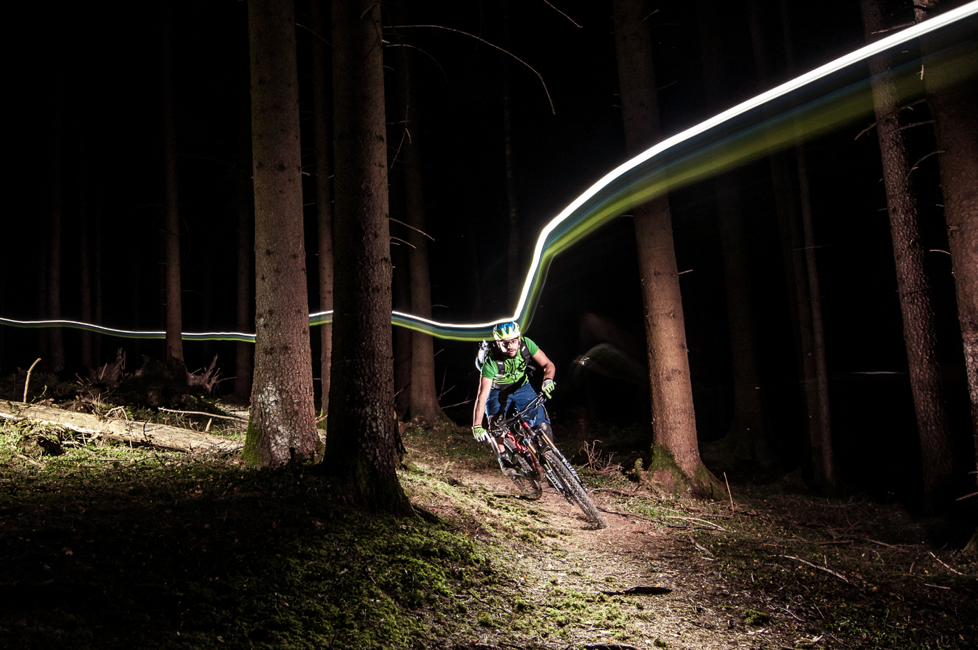 Fönsturm Alpina Lupine Nightride Bike Triple 2 MTB