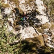 MTB Enduro Trails Aufstieg Südtirol