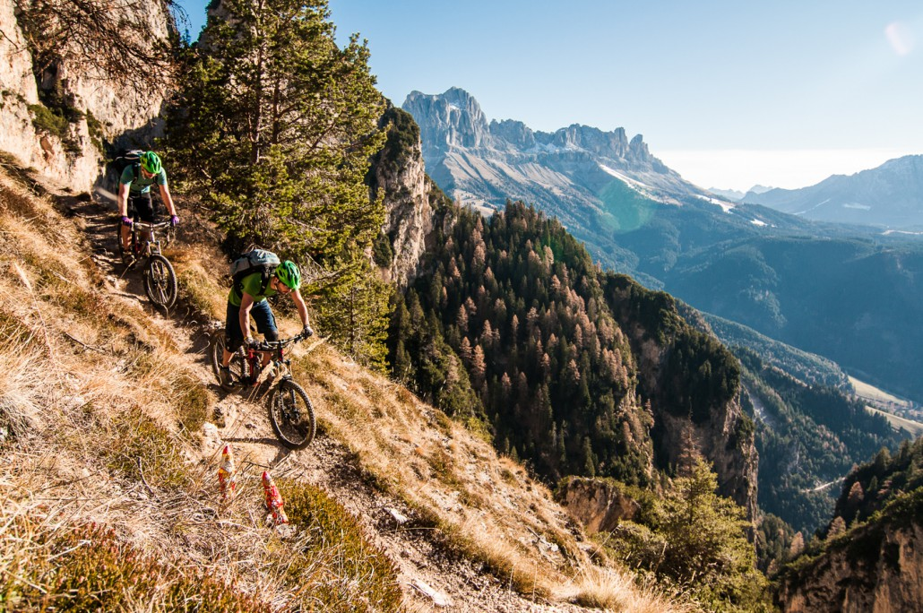 Nikolaus Krampus Südtirol Bike Trail MTB