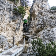 Trail MTB Trial Südtirol Bärenfalle