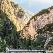 Bärenfalle Brücken Südtirol Bike MTB