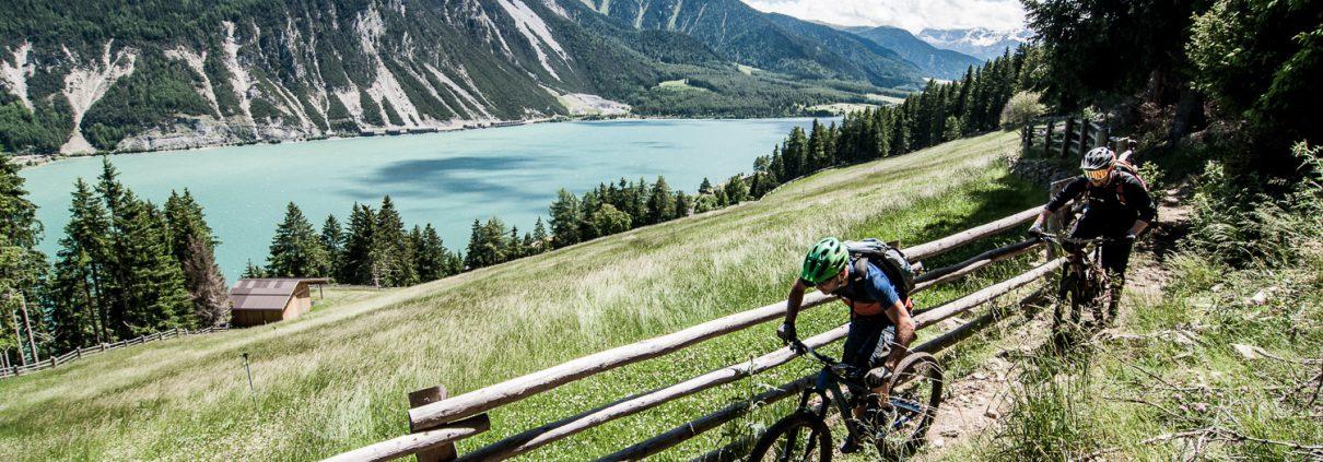 MTB Reschensee Nauders Vinschgau Tirol